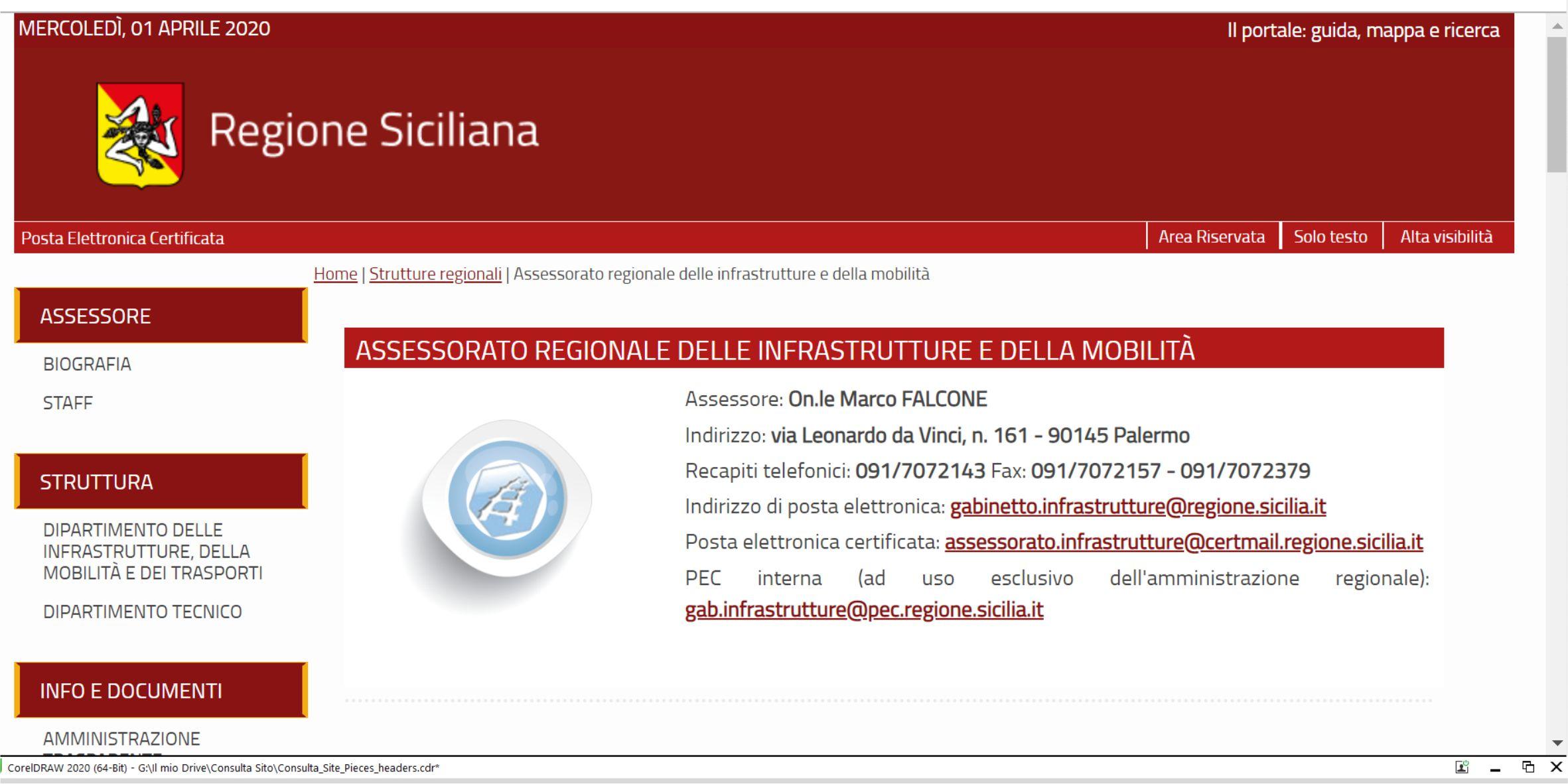 Bando Comune di Bolognetta: Il DRT Servizio 1 scrive al RUP