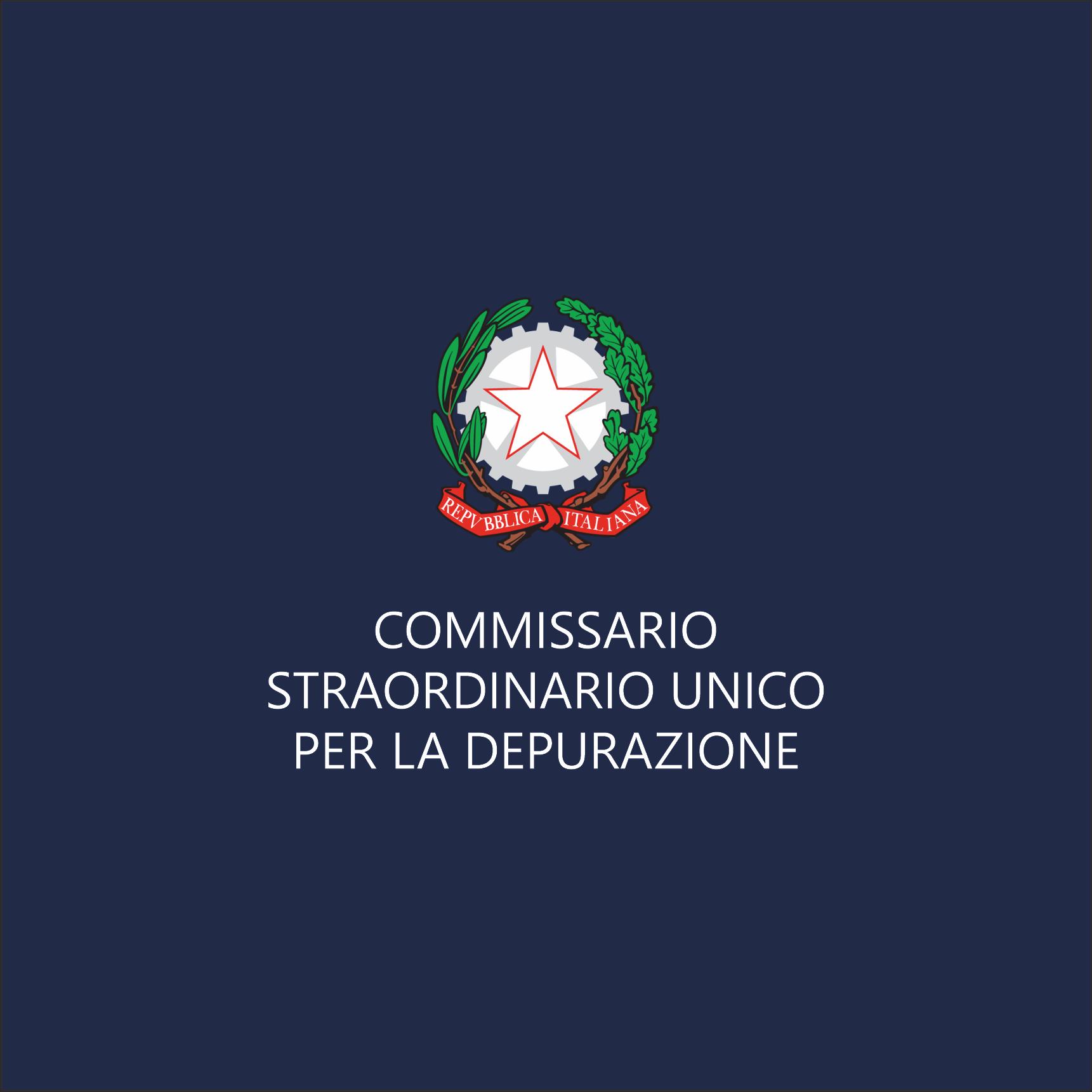Commissario Unico Depurazione – Avviso Pubblico – Costituzione Elenco Componenti Collegi Consultivi Tecnici