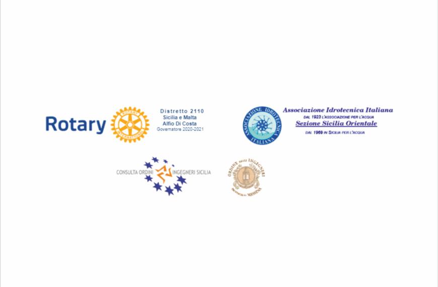 24 Aprile 2021 Convegno su Innovazioni nella Gestione delle Acque in Sicilia